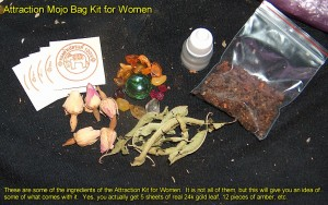 attraction mojo bag kit
