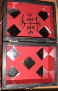 Eshu Protection Mirror Box