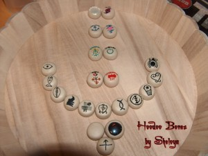 Hoodoo Bones Symbols Version